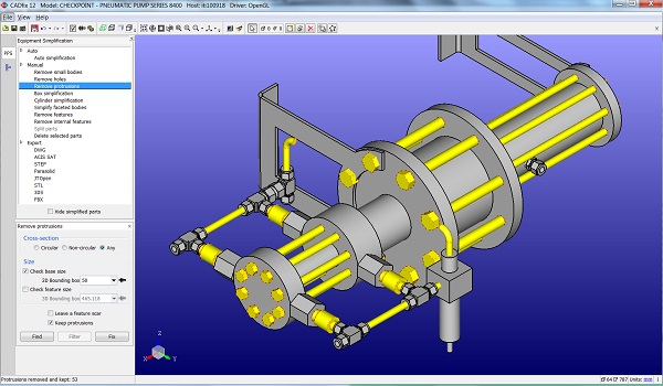 CADfix-PPS-automatic-CAD-protrusion-removal
