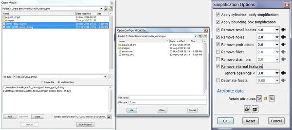CADfix-PPS-batch-process-automatic-simplification-options