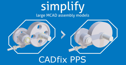 Simplifying Large MCAD Equipment Assemblies for Plant Design Integration & IP Protection